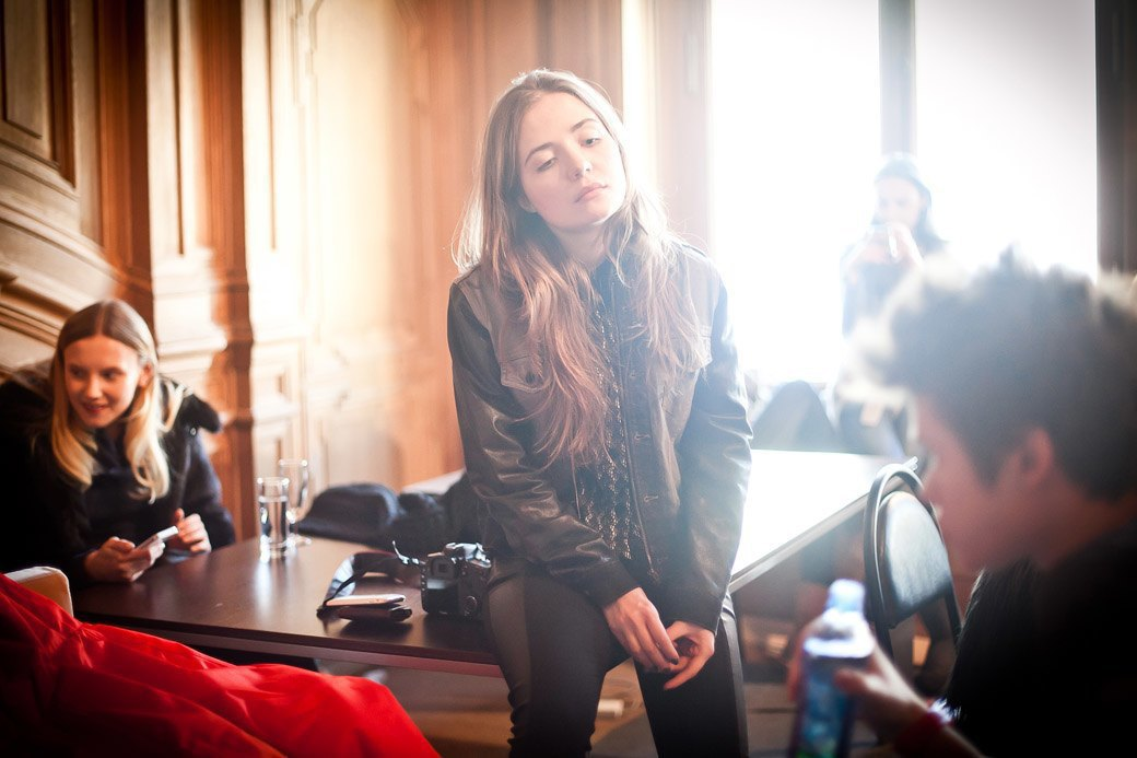 Репортаж: Бархатные платья  и светящиеся кубы на LUBLU Kira Plastinina FW 2013. Изображение № 8.