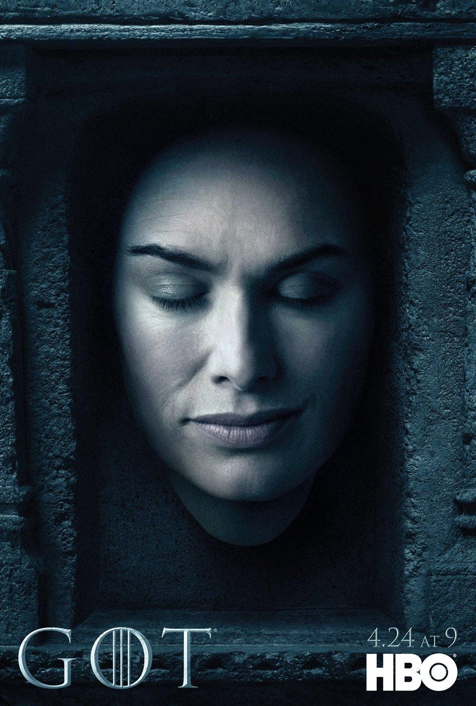 Постеры с героями «Игры престолов» к новому сезону. Изображение № 7.