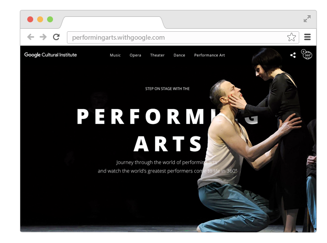В закладки: Театр, опера и балет в формате 360°. Изображение № 1.