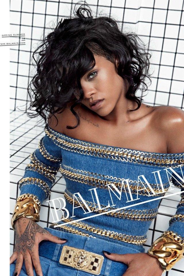 Рианна стала лицом Balmain. Изображение № 1.