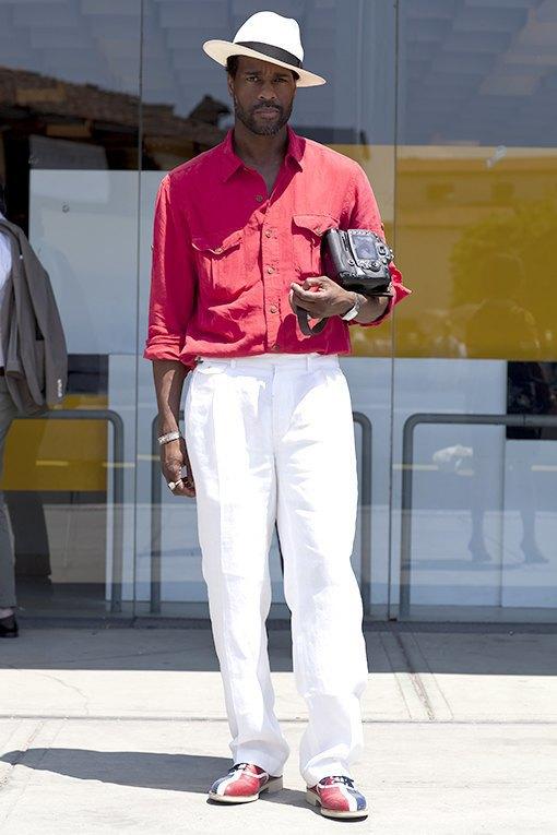 Красивые  мужчины  на Pitti Uomo. Изображение № 20.