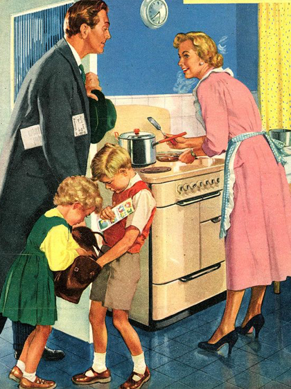 Домашняя жена: Почему в XXI веке не стыдно быть домохозяйкой. Изображение № 4.