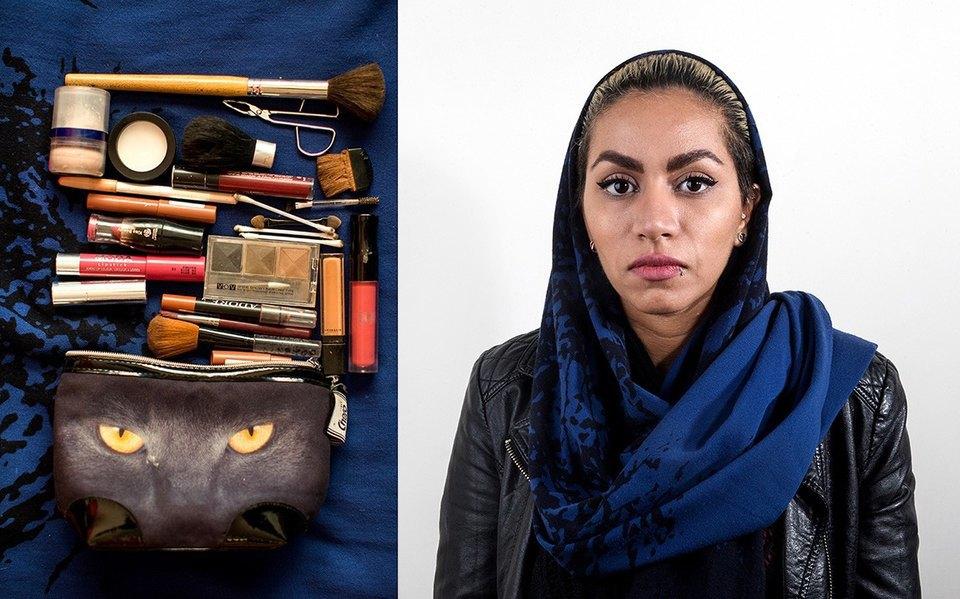 «Иранский макияж»:  Как и чем красятся  восточные женщины. Изображение № 10.
