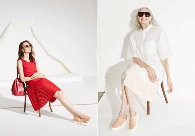 86-летняя модель стала лицом кампании Vans x  & Other Stories. Изображение № 2.