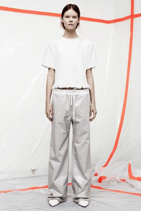 Кожаные толстовки и брюки в коллекции T by Alexander Wang. Изображение № 19.