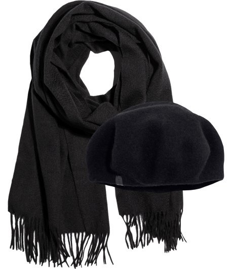 Полный комплект: Шапки и шарфы на холода. Изображение № 5.