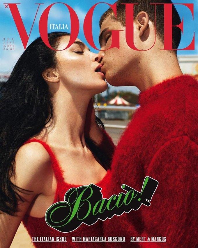 Названы лучшие обложки модных журналов 2017-го. Изображение № 20.