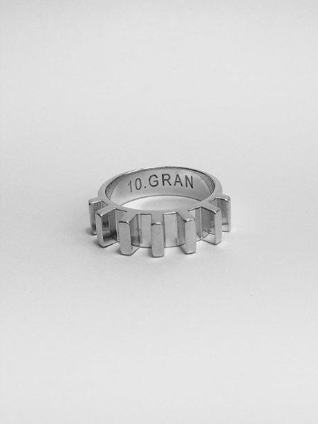 Московская марка 10.GRAN: Ювелирные украшения в виде молекул. Изображение № 3.