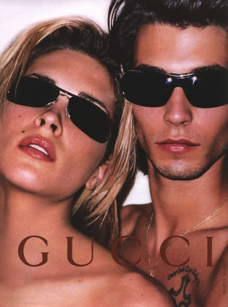 Рекламная кампания Gucci осень-зима — 2001/2002. Изображение № 25.