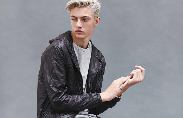 Новое имя:  17-летний музыкант и топ-модель Лаки Блю. Изображение № 2.
