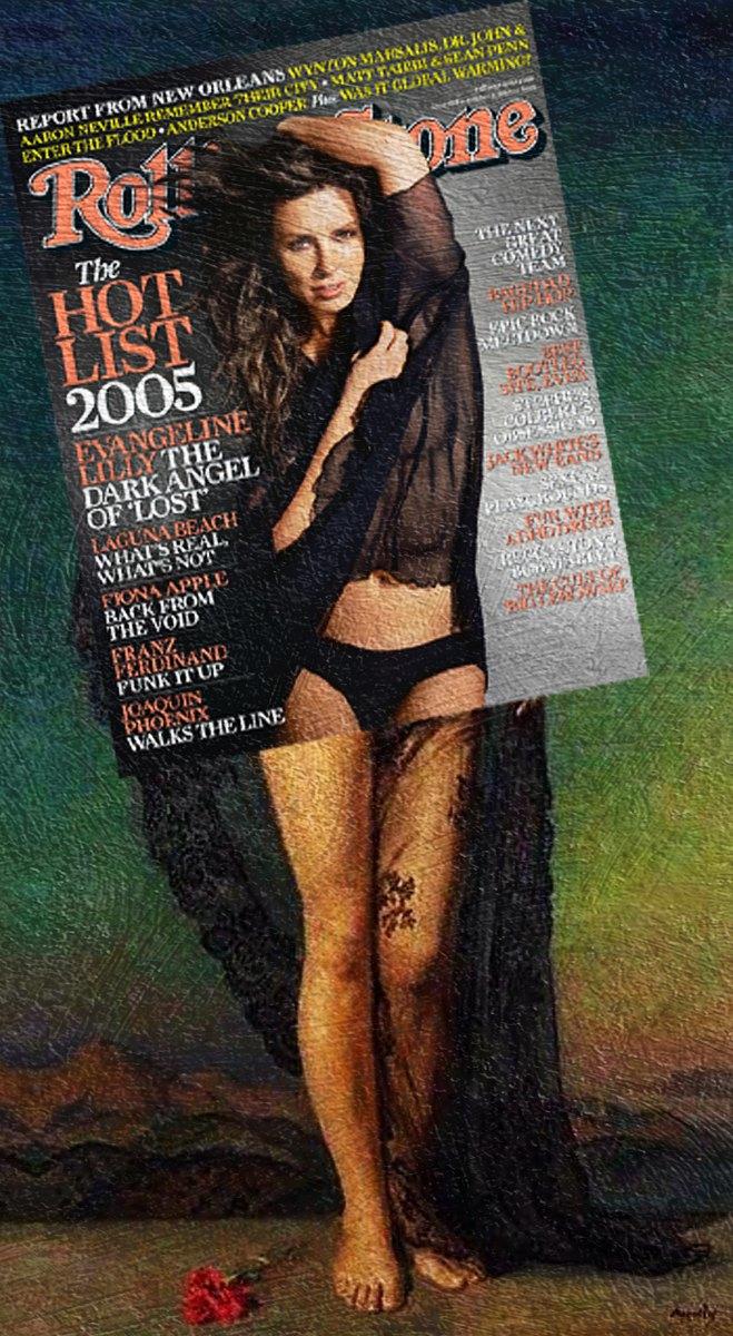 Mag + Art: Коллажи из глянца и живописи. Изображение № 14.