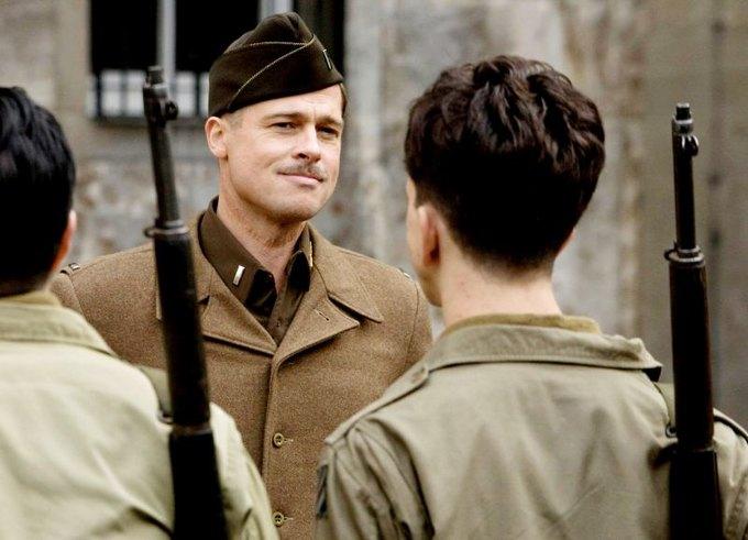 Недавно Брэд уже играл в фильме о Второй мировой. Изображение № 1.