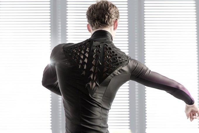 В MIT изобрели одежду, «дышащую»  с помощью бактерий . Изображение № 2.