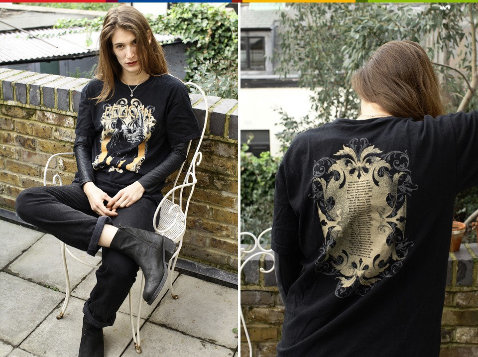 London rocks: Стилист Мирейа Гарсия и ее коллекция футболок. Изображение № 14.