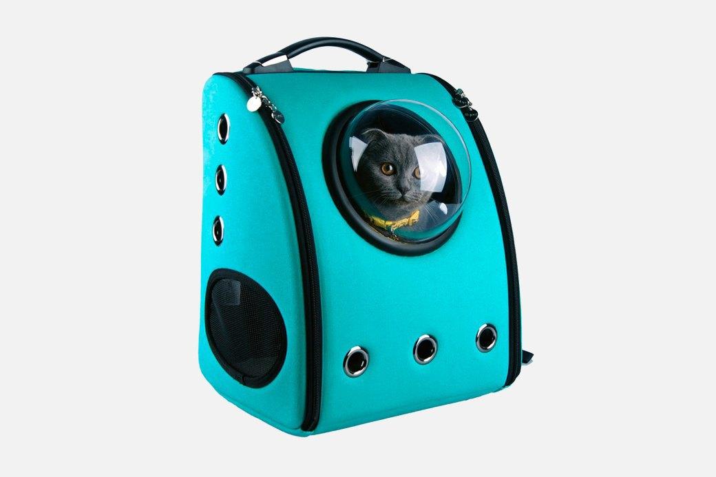 Космический рюкзак-переноска для кошек. Изображение № 1.