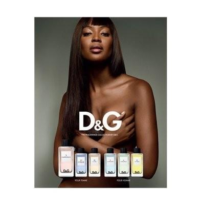 Наоми Кэмпбелл в рекламной кампании парфюма D&G. Изображение № 55.