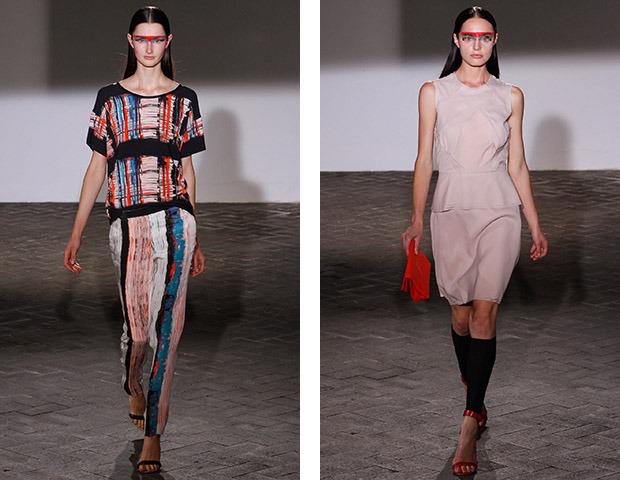 Неделя моды в Париже: показы Veronique Branquinho, Cedric Charlier, Anthony Vaccarello и Aganovich. Изображение № 12.