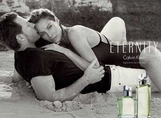 Кристи Терлингтон и Эд Бернс в новой рекламной кампании аромата Eternity. Изображение № 2.