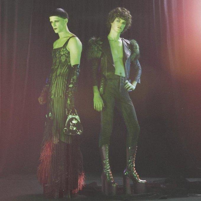 Дженезис Пи-Орридж снялся в рекламной кампании Marc Jacobs. Изображение № 4.