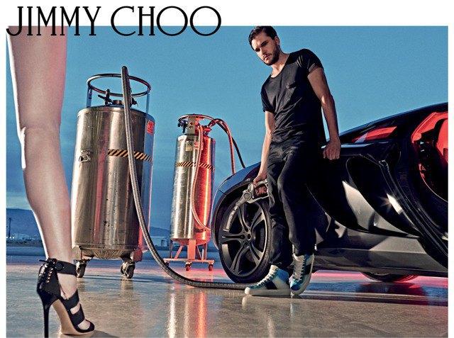 Полез на рожон: Кит Харингтон снялся в новой рекламе Jimmy Choo. Изображение № 5.
