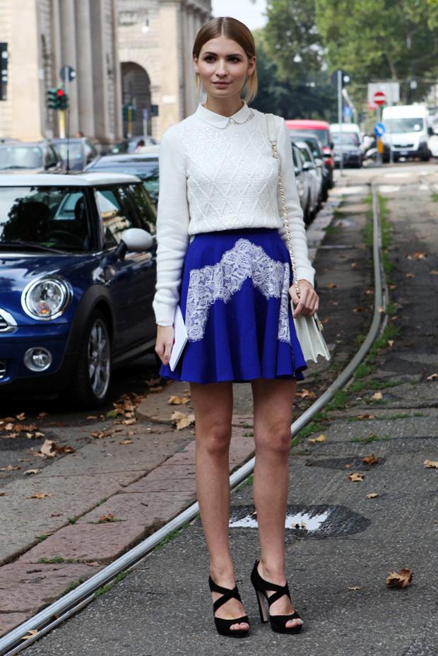 Streetstyle: Неделя моды в Милане. Изображение № 4.