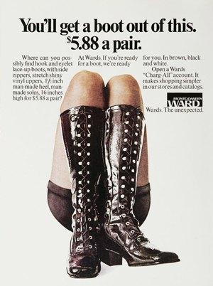 По колено: Как менялась мода на сапоги. Изображение № 4.