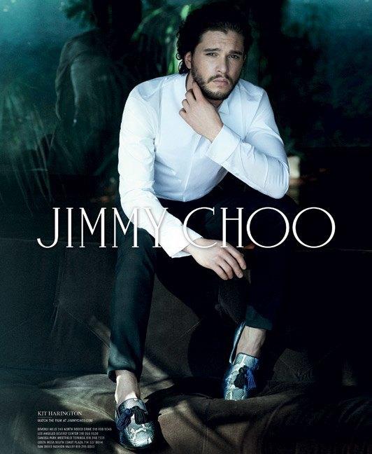 Кит Харингтон стал лицом Jimmy Choo. Изображение № 3.