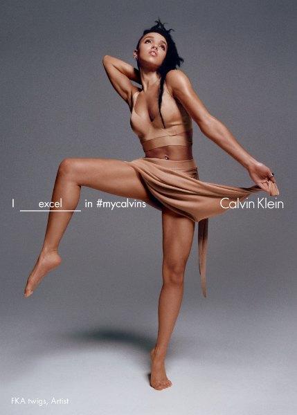 FKA twigs, Кендалл Дженнер и другие звёзды в кампании Calvin Klein. Изображение № 1.