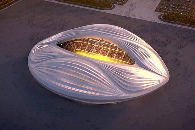 Заха Хадид спроектировала стадион в виде гигантской вагины. Изображение № 1.