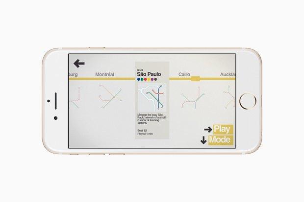 Хит сезона: Мобильная головоломка Mini Metro. Изображение № 2.