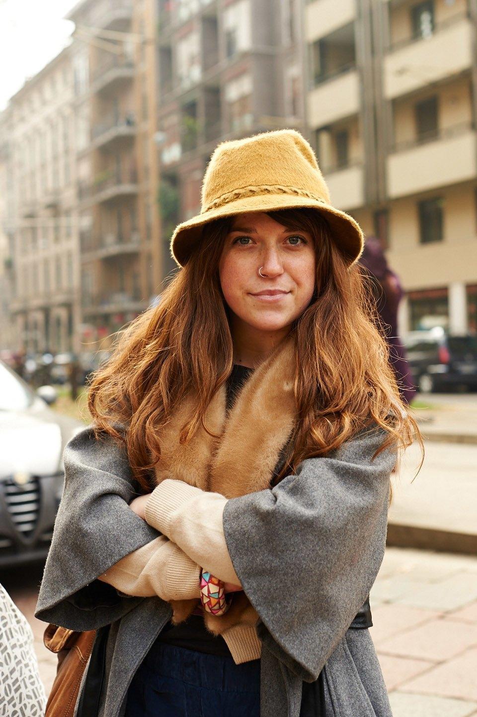 Стритстайл:  Неделя моды в Милане,  часть I. Изображение № 35.