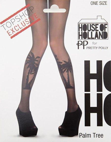 Генри Холланд создал колготки с принтами для Topshop. Изображение № 1.