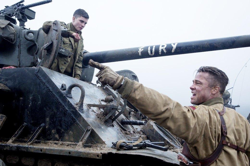 Брэд Питт о Второй мировой, жизни в танке  и семейных ценностях. Изображение № 1.