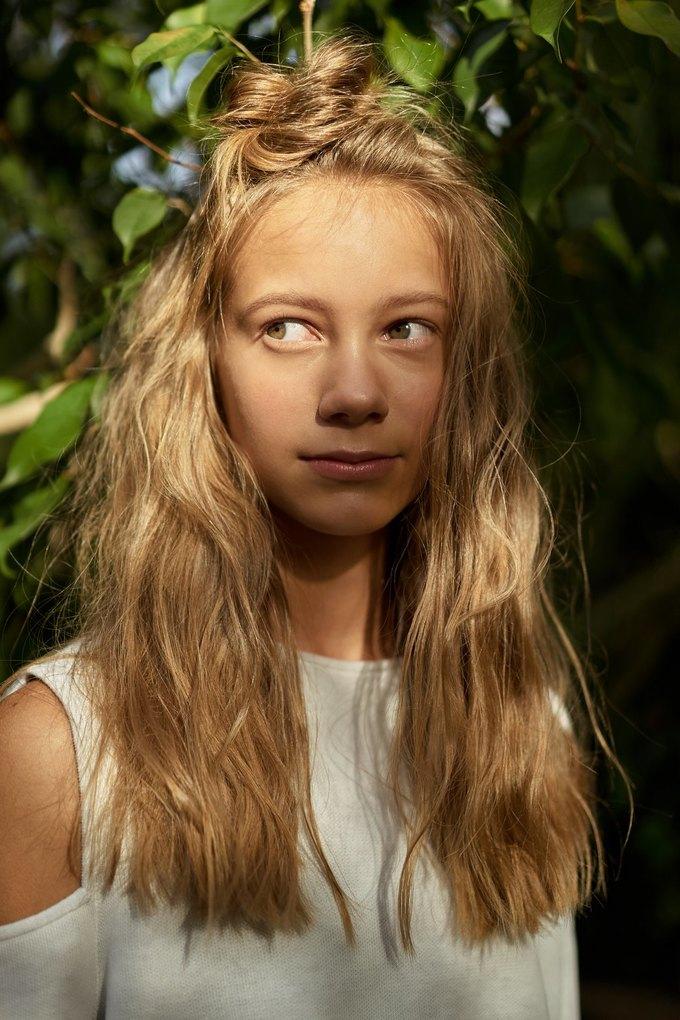 Birdie выпустили съёмку причёсок с девочками-подростками. Изображение № 1.
