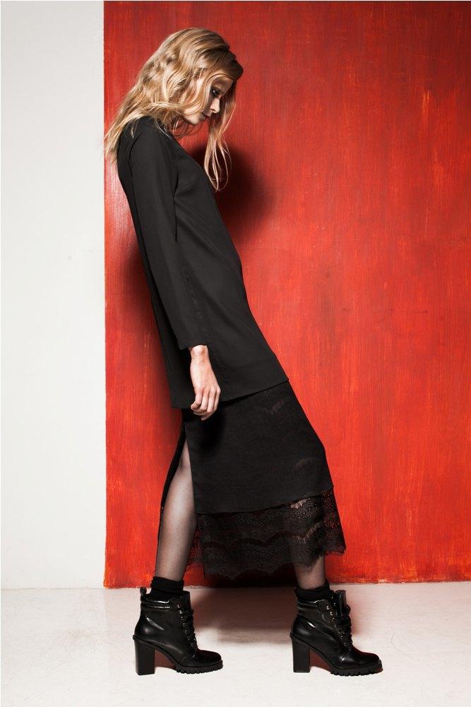 Платья и юбки в бельевом стиле в лукбуке Daria Bardeeva . Изображение № 5.