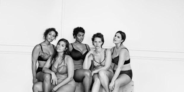 #ImNoAngel: группа плюс-сайз-моделей снялась  в рекламе белья. Изображение № 1.