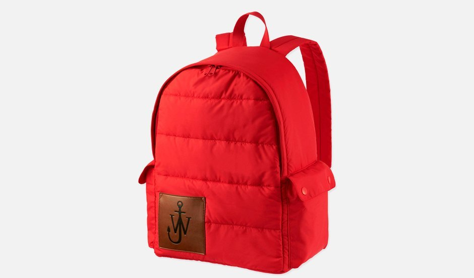 Пузатый рюкзак J.W.Anderson x Uniqlo. Изображение № 1.