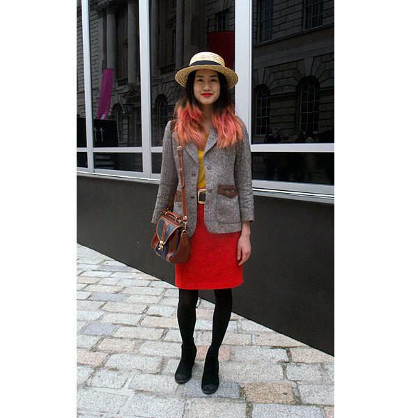 London Fashion Week: день первый — луки. Изображение № 1.