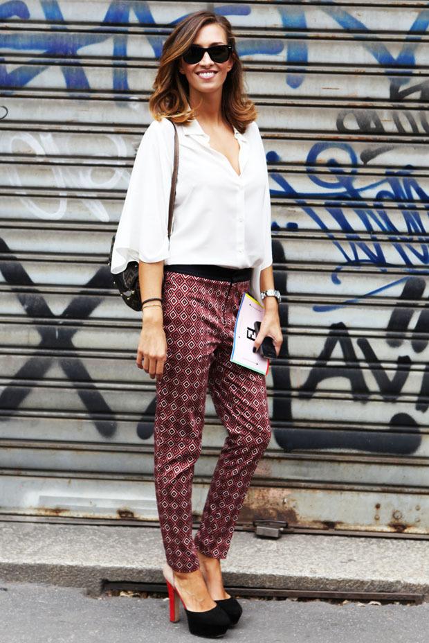 Streetstyle: Неделя моды в Милане. Изображение № 19.
