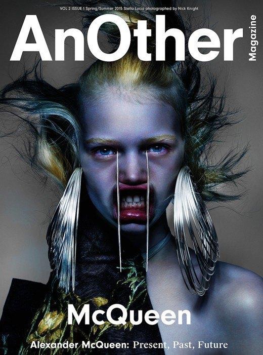 У нового номера AnOther Magazine три обложки, и все посвящены Маккуину. Изображение № 1.