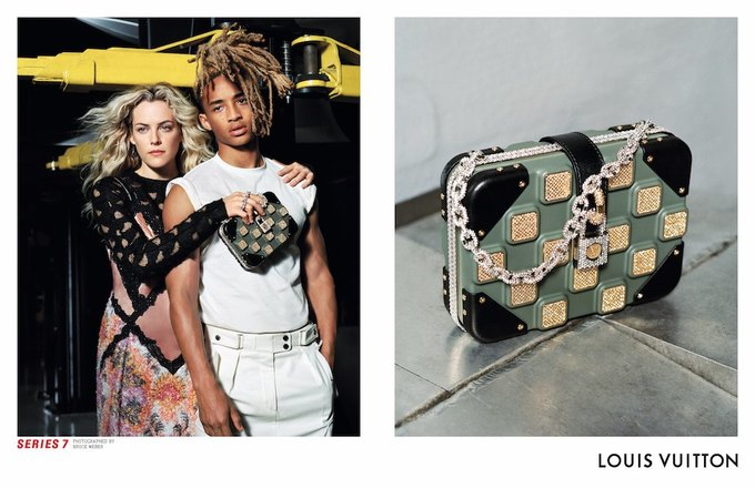 Катрин Денёв и Джейден Смит в новой кампании Louis Vuitton. Изображение № 3.
