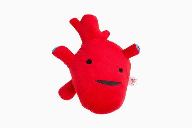 I Heart Guts: Плюшевые матка, мозг и не только . Изображение № 3.