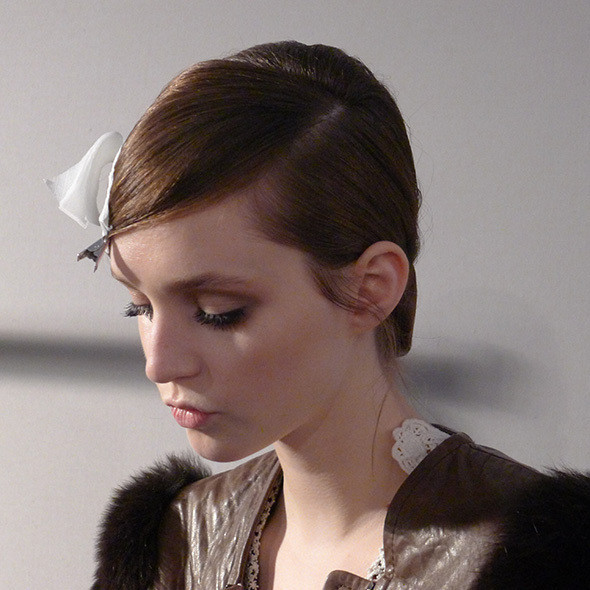 Изображение 63. Milan Fashion Week: бэкстейдж Alberta Ferretti.. Изображение № 26.