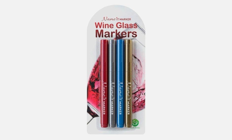 Чтоб не потерять: Маркеры для бокалов, стаканов и рюмок. Изображение № 1.
