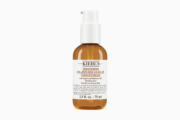 Разглаживающий несмываемый уход Kiehl's Smoothing Oil-Infused Leave-In Concentrate. Изображение № 19.