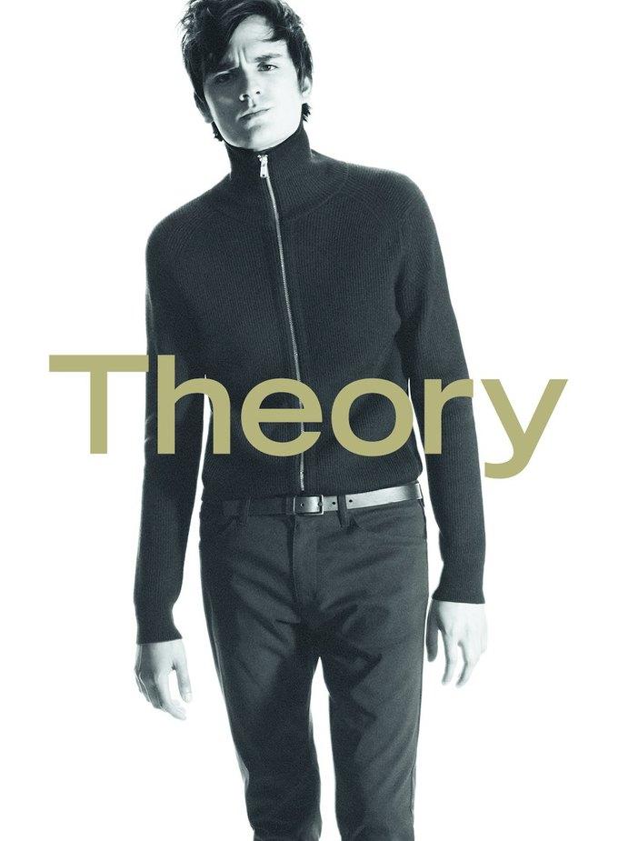 Сын Алена Делона стал лицом новой коллекции Theory. Изображение № 4.