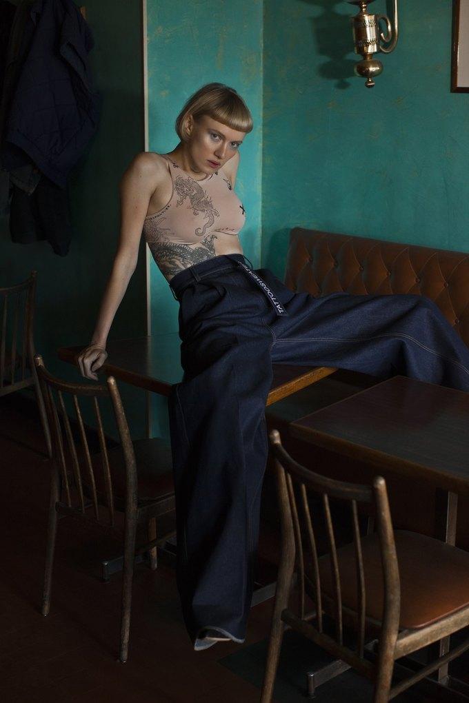 Tattoosweaters представили красивую съёмку  с фотодуэтом Bénin Paris. Изображение № 9.
