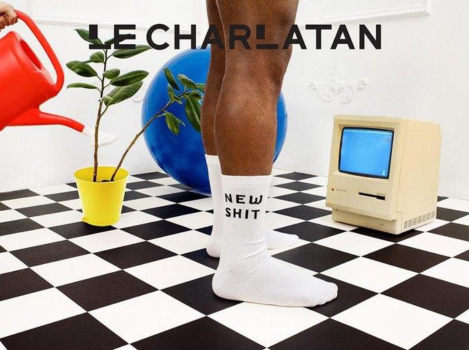 Лего, ноги гиков и роботы в лукбуке марки носков Le Charlatan. Изображение № 3.