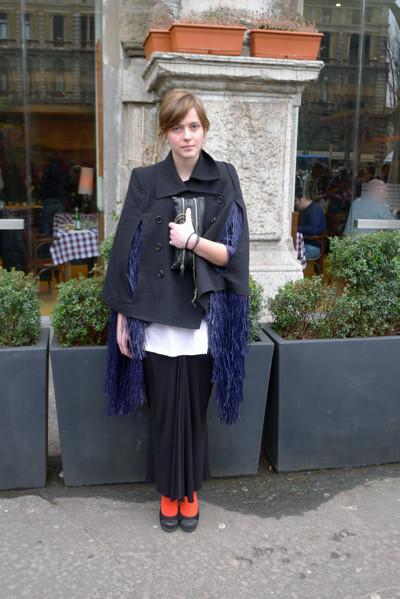 Изображение 8. Milan Fashion Week: день четвертый – луки.. Изображение № 9.