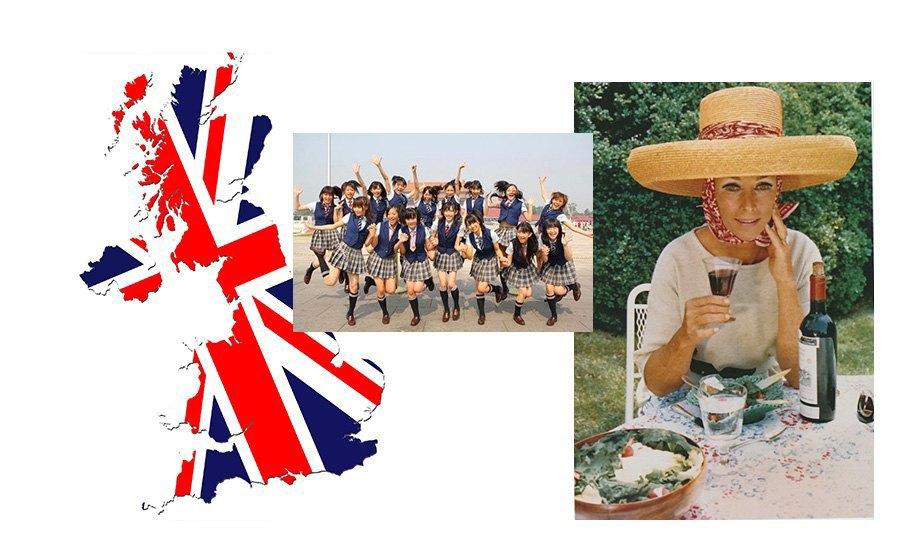 Школьницы, Британия, Энн Бонфу Тейлор. Изображение № 16.